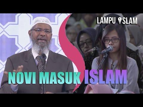 Novi MASUK ISLAM Setelah Dijelaskan Dr. Zakir Naik