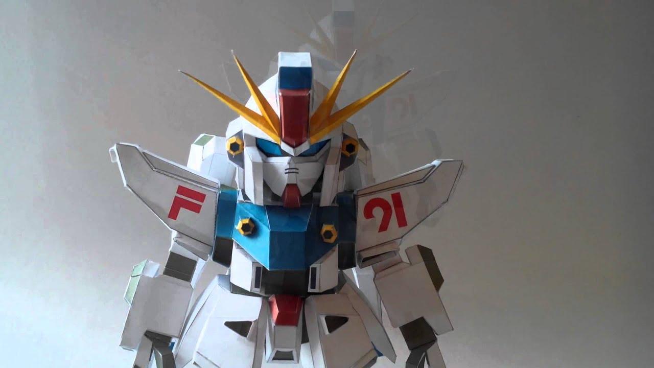 Робот из бумаги своими руками для детей 822