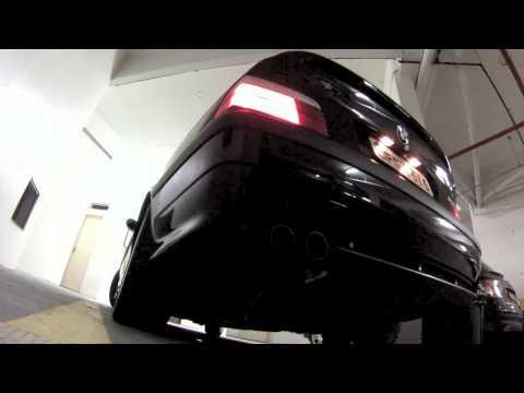 BMW M3 E36 custom exhaust