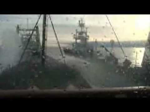 Ramming the Japanese whaling ship - Sea Shepherd