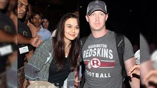 Preity Zinta & Husband Gene Goodenough RETURNS To Mumbai