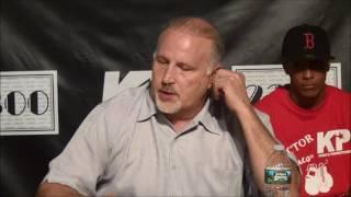 Kermit Cintron - Tyrone Brunson Press Conference