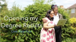 Final Year of University Medical Science Degree Results: Live Reaction!