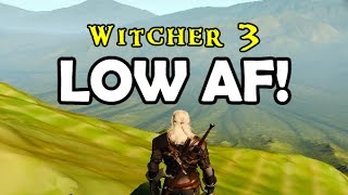 Witcher 3 Ultimate-Ultra Low PC Gameplay - GT 640 - No Trees/No Grass