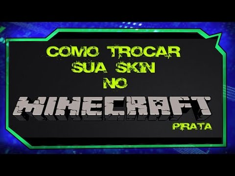 Como colocar Skin no Minecraft 1.8 PIRATA (1.8.1 Pirata )
