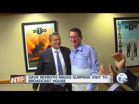Dave Rexroth visits Broadcast House