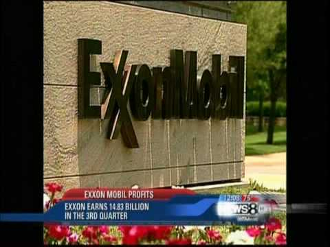 Record Breaking profits again for Exxon Mobil