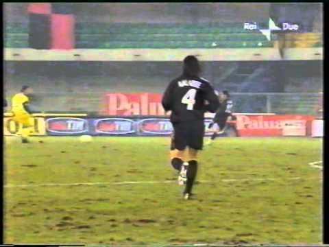 Chievo – Milan  Qdf  Coppa Italia 2002-2003  RITORNO