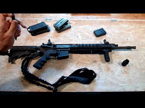 Ruger SR 556 Rifle - Review Part 1/2