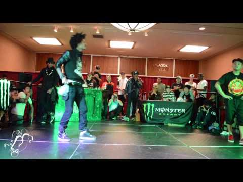 Larry (les Twins) Vs Tiebreaker | All Styles | Wod San Diego | #sxstv video