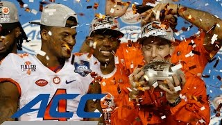 Clemson Wins 2nd Consecutive ACC Football Championship