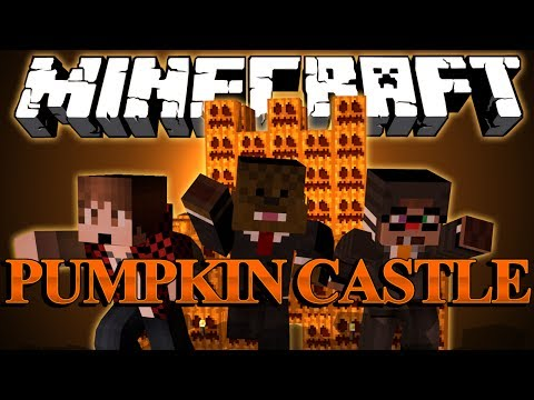 HALLOWEEN Spooky Pumpkin Castle Adventure Map w/ BajanCanadian and ChimneySwift (Part 1)