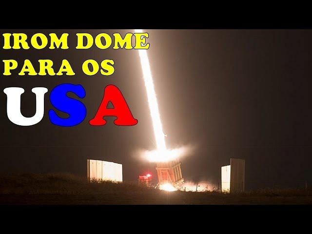 USA Compram Baterias do IRON DOME