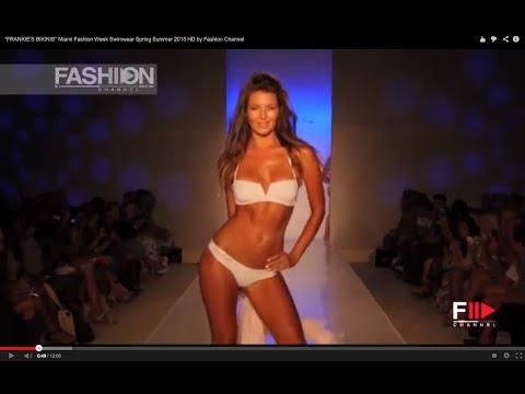 FRANKIES BIKINIS Miami Fashion Week Swimwear Spring Summer 2015...