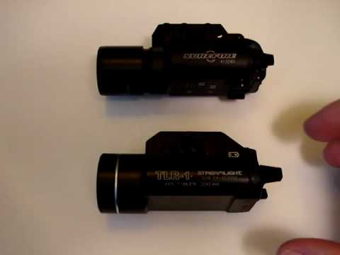 Surefire X300 vs Streamlight TLR-1 Which best suits you?