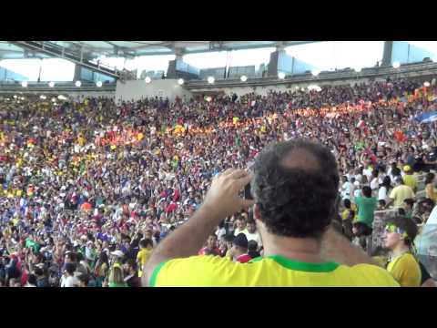 Ecuador 0 x 0 France (Fifa Word Cup Brazil 2014) fans of france