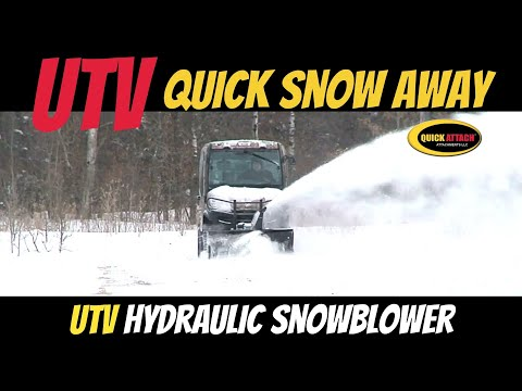 Quick Attach® UTV Quick Snow-Away Snowblower