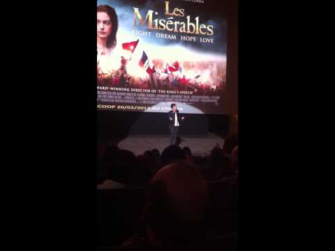 I dreamed a dream - Roberto Bellarosa - UGC Eldorado (avant-premire Les Misrables)