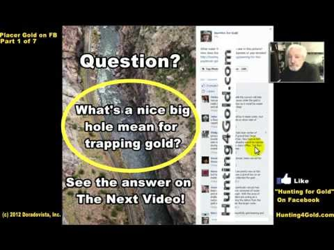 Placer Gold Stream Deposits on FB 1-of-7