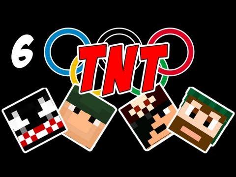 #06. Minecraft: Olimpíadas TNT: Corrida de Obstáculos.