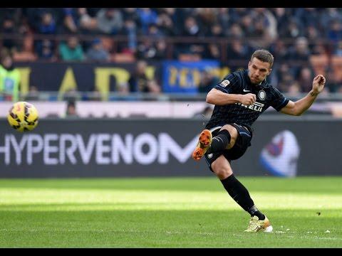 Lukas Podolski vs Genoa(11/01/2015)14-15 HD 720P by轩旗