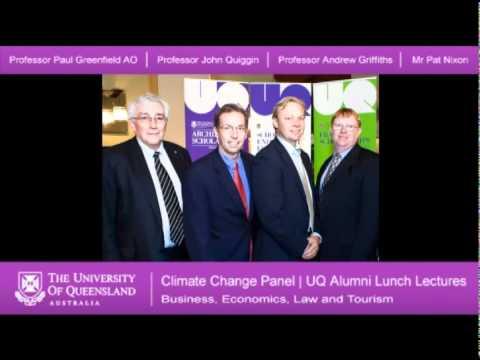 Climate Change Panel Part 8 - Business, Economics, Law and Tourism Alumni Lunch Lecture Series 2011