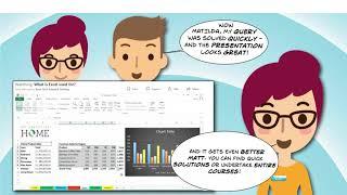 LinkedIn Learning helps Matt master Excel