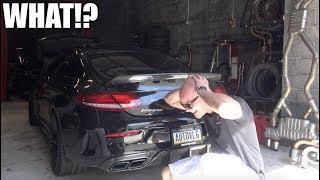 They turned my car into the CRAZIEST sounding AMG C63 ever!! (And its FAST!!)
