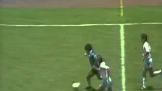 Diego Maradona's Goal   The best Goal ever