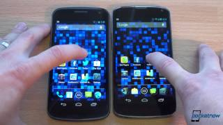 Nexus 4 vs Galaxy Nexus