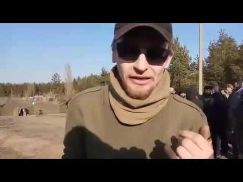 В Купянске блокировщиков Донбасса прогнали с криками : ПОШЛИ ВОН ФАШИСТЫ МАЙДАНУТЫЕ!