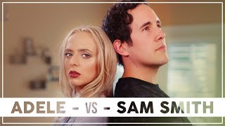 Download Lagu ADELE vs SAM SMITH Mashup!! ft. Madilyn Bailey & Casey Breves Gratis STAFABAND