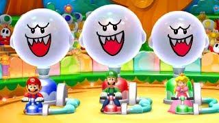 Mario Party 10 - All Wacky Minigames