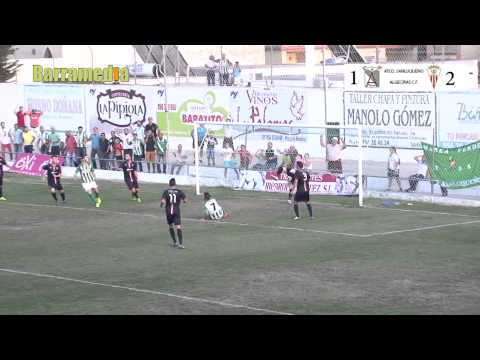 Resumen Atco Sanluqueño 1 - 3 Algeciras C F - Sanlúcar de Barrameda 2014 .
