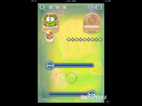 Cut the Rope Time Travel 5-6 Ancient Greece Walkthrough