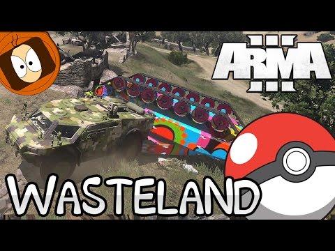 WASTELAND | ATTRAPEZ LES TOUS - POKETANK !? | ARMA 3