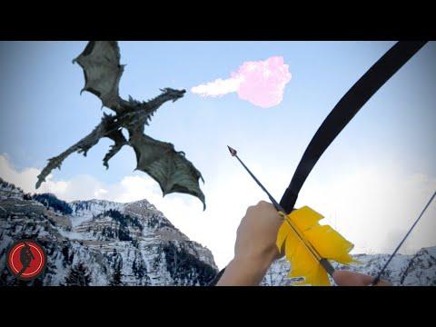 El videojuego Skyrim recreado en la vida real