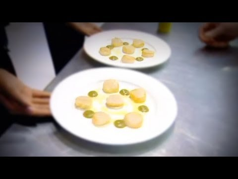 Perfect Scallops with Cauliflower Puree - Gordon Ramsay