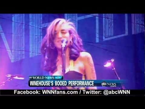 Amy Winehouse 2011 Concert in Belgrade