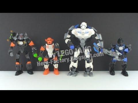 LEGO Hero Factory Breakout wave 2 heroes recap