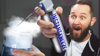 INSTANT Freeze Spray! | 10 Strange Amazon Items