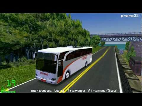 mm2 遊車河 (347) mercedes benz Travego (Vimamao/Soul ) Body in  in archipelago city