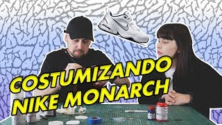 CUSTOMIZANDO estas NIKE MONARCH como unas JORDAN RETRO | CUSTOM de @MySneakersCL | Tutorial