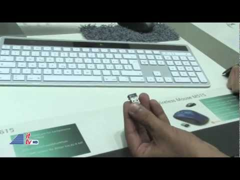 IFA 2011: Logitech Wireless Solar Keyboard K750 for Mac