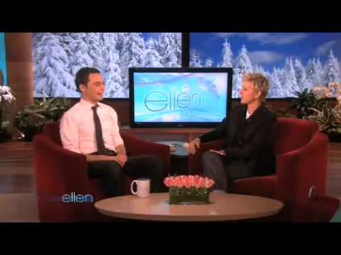 Jim Parsons Loves His Ellen Mug!