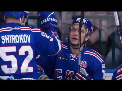 2017 Gagarin Cup, Lokomotiv 1 SKA 4 (Series 0-2)