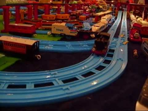 Plarail. Tomy Trains and Tomica at Hinckley Xmas Model Railway Show 2012