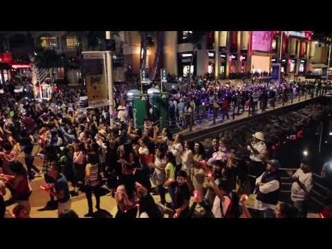 Flash Mob Dance Los Cabos (official Video) Hd video