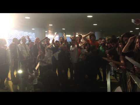 Estudantes protestam contra redução da maioridade penal