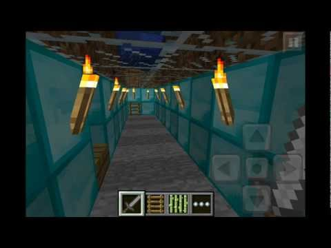 how to build a submarine in minecraft ps4